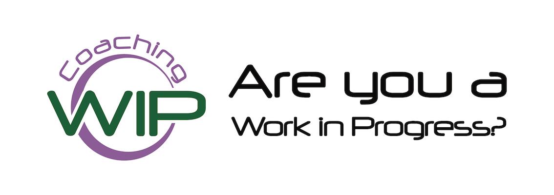 Coaching WIP Logo Shattered Pencil Studios Design