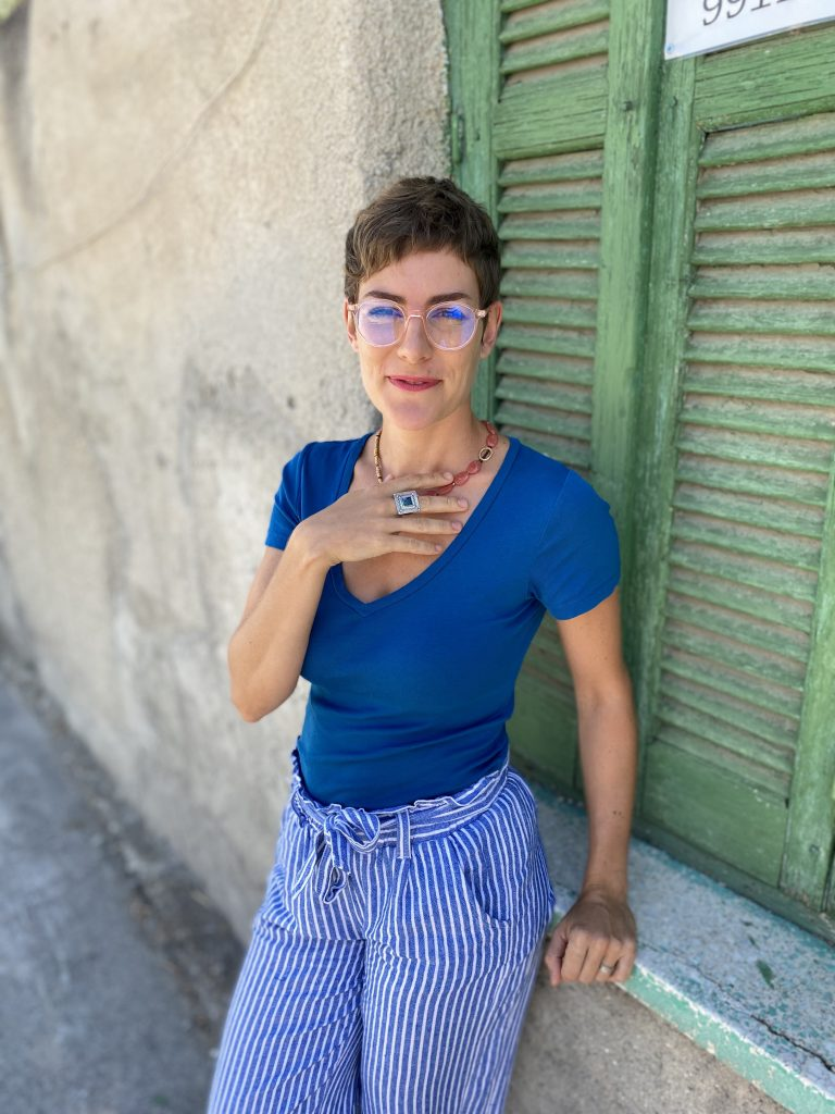 Rosie Kosinski, Brand Queen and Founder of Shattered Pencil Studios
